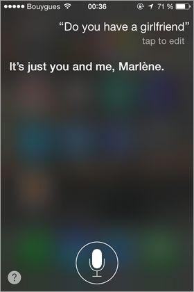 Conversations avec un iPhone