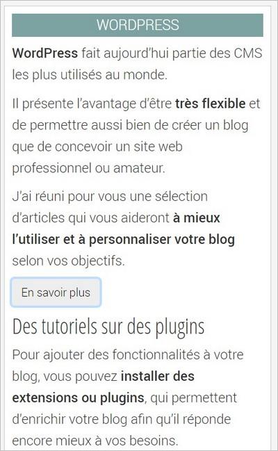 Mise en forme des tags sur WordPress