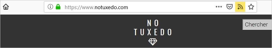 Icône RSS sur Firefox