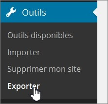 Exporter son blog WordPress.com