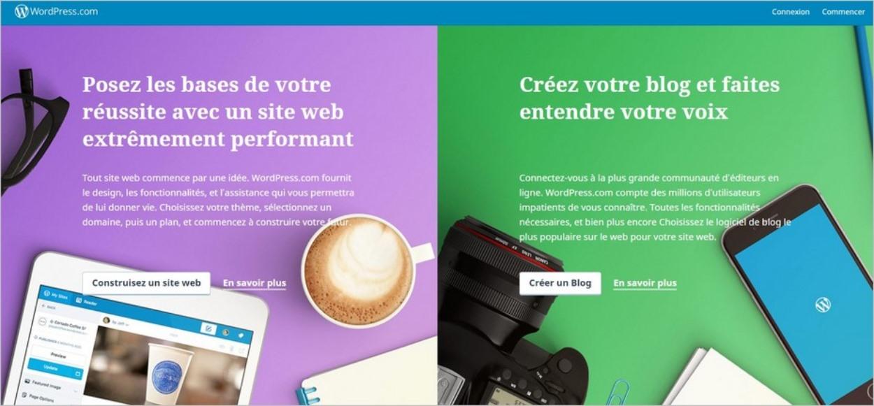 WordPress.com : pour se lancer sans rien payer