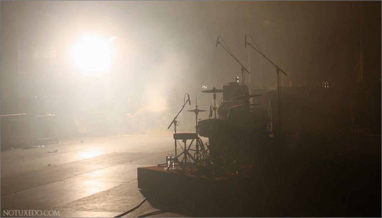Concert en backstage