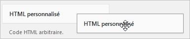 Créer un widget HTML personnalisé sur WordPress