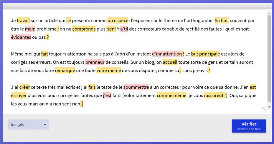 Le correcteur orthographique LanguageTool