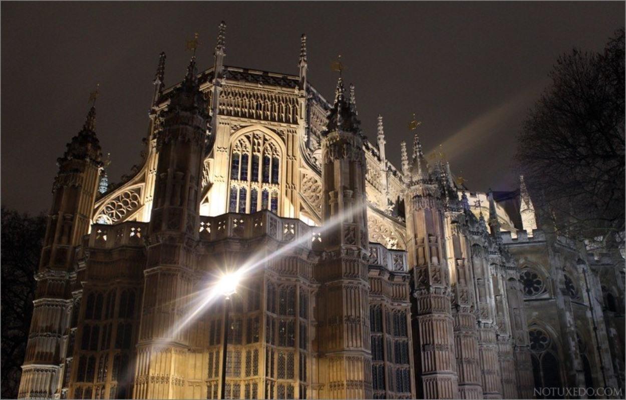 Westminster Abbey de nuit
