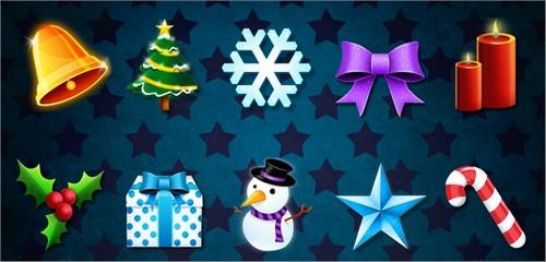 Aperçu de 10 icônes de Noël gratuites en PNG