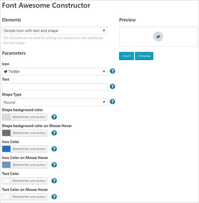 Ajouter une icône sur WordPress