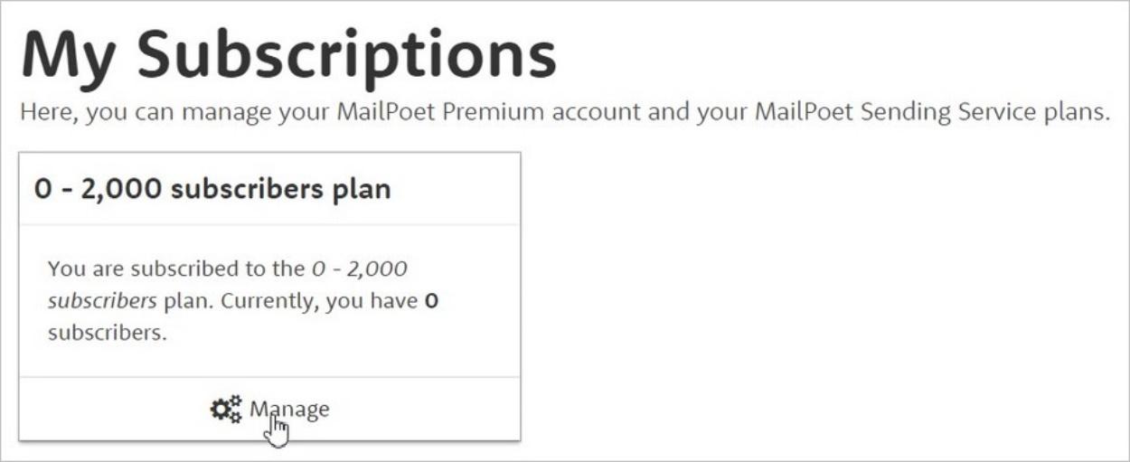 Compte MailPoet gratuit