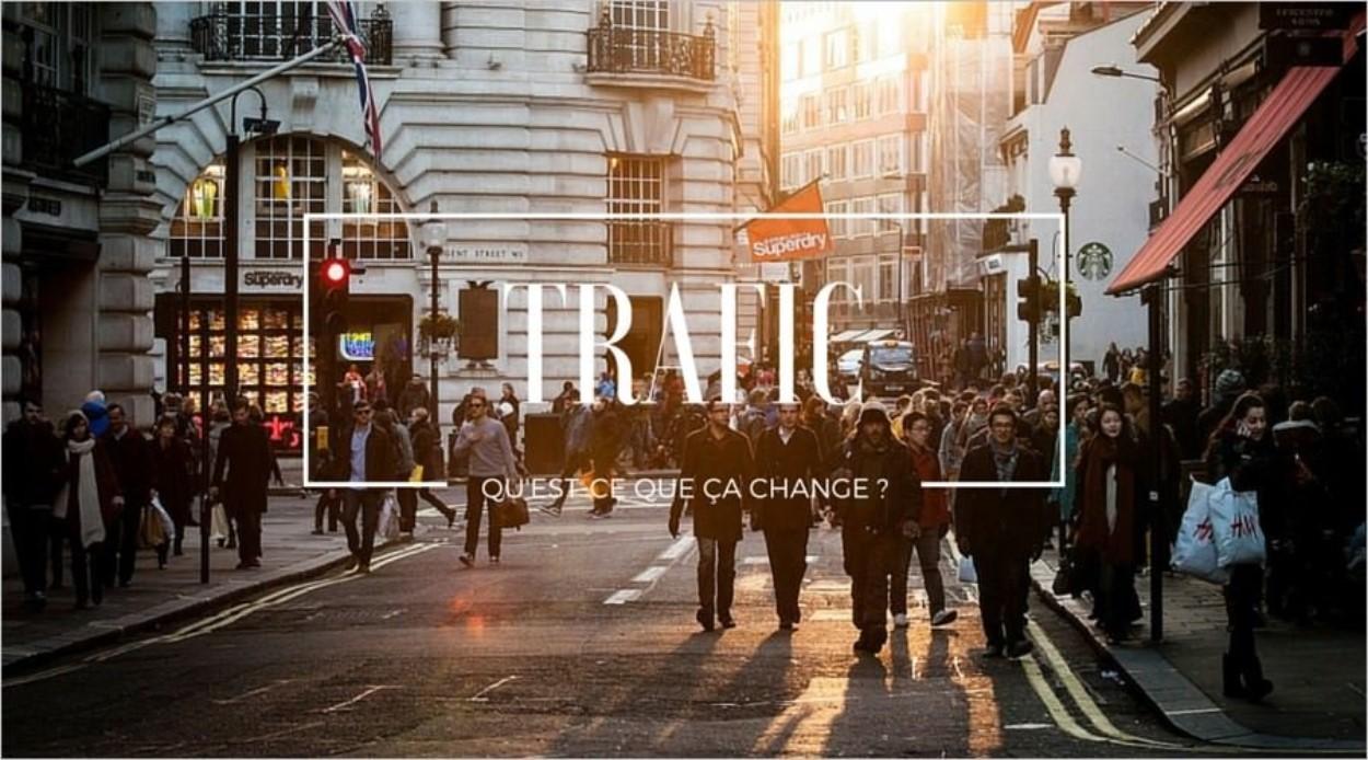 Impact du trafic sur un blog