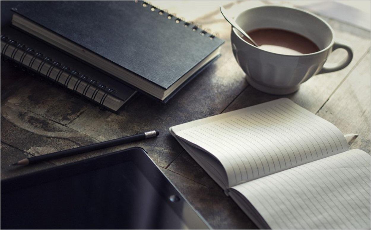 Carnets et iPad, l'univers du blogueur