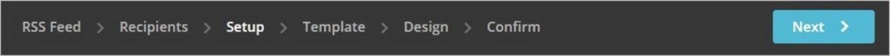 Etapes d'une campagne de newsletter sur MailChimp