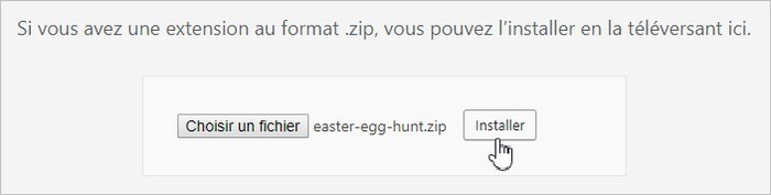 Installer le plugin Easter Egg Hunt