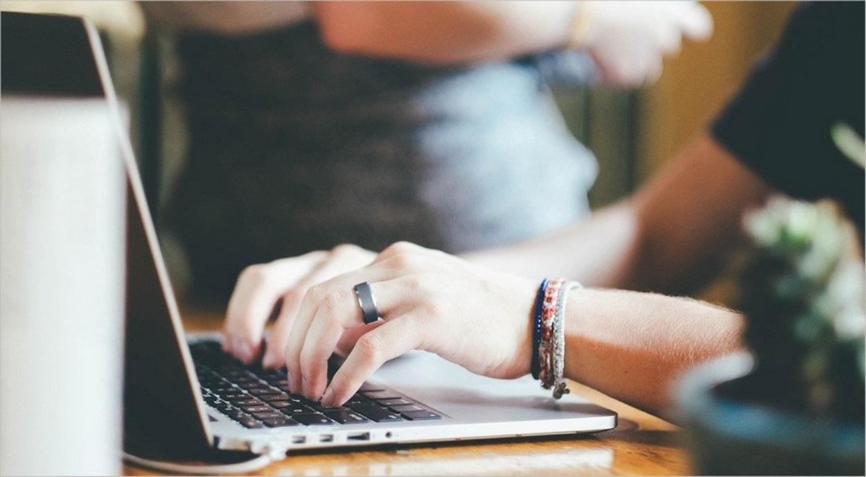 Écrire sur ordinateur