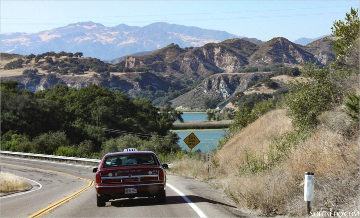 Arrivée sur le lac Cachuma en Californie