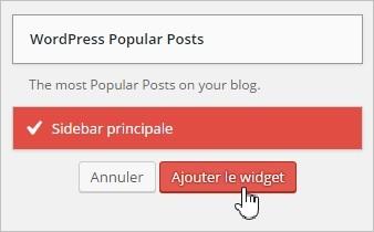 Afficher les articles populaires dans la sidebar