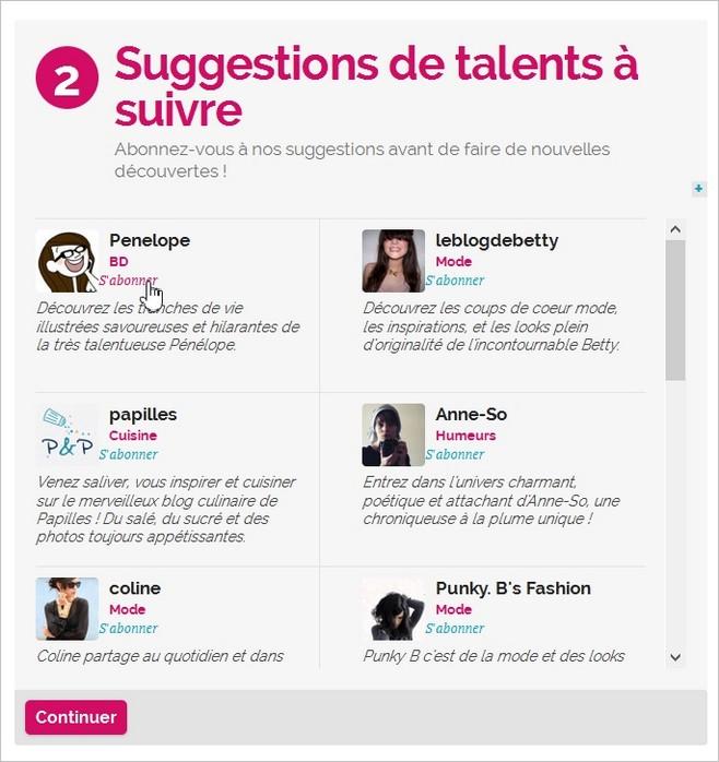 Suivre des blogueuses influentes sur Hellocoton