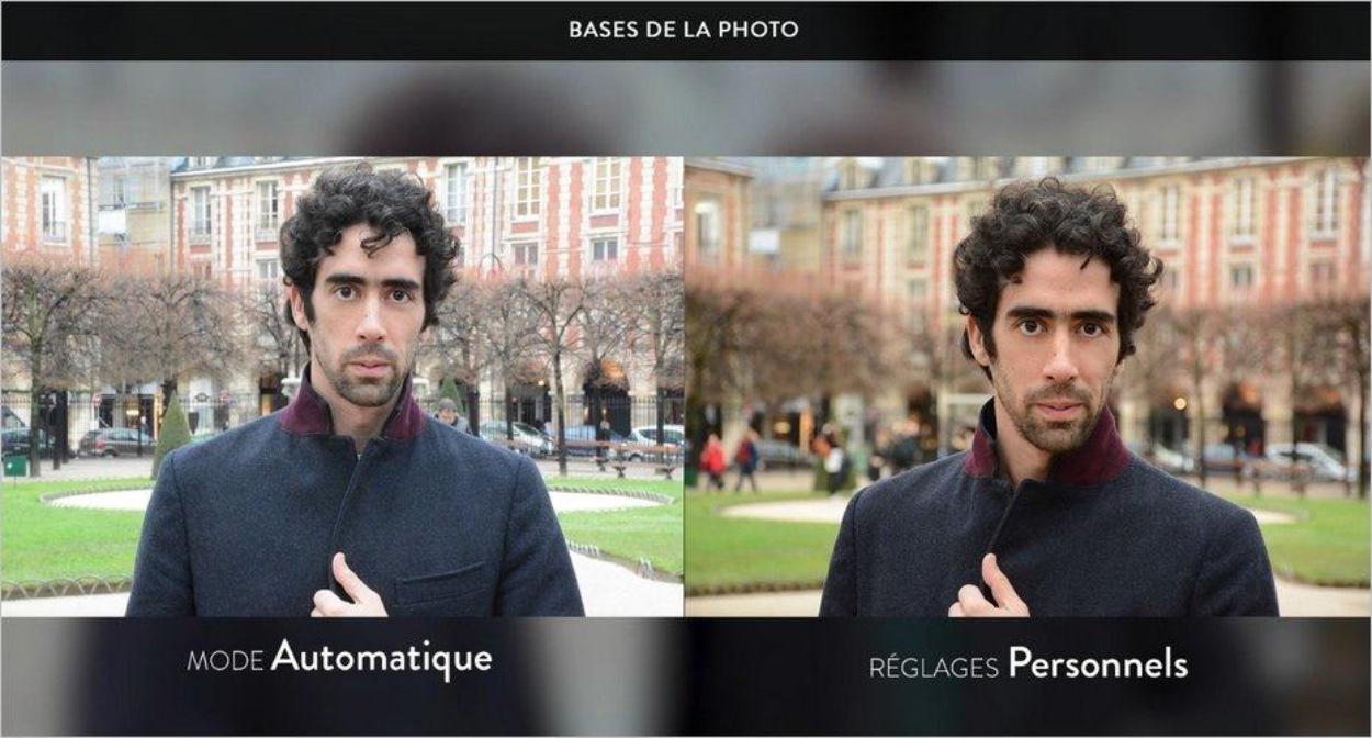 Comparaison de deux photos