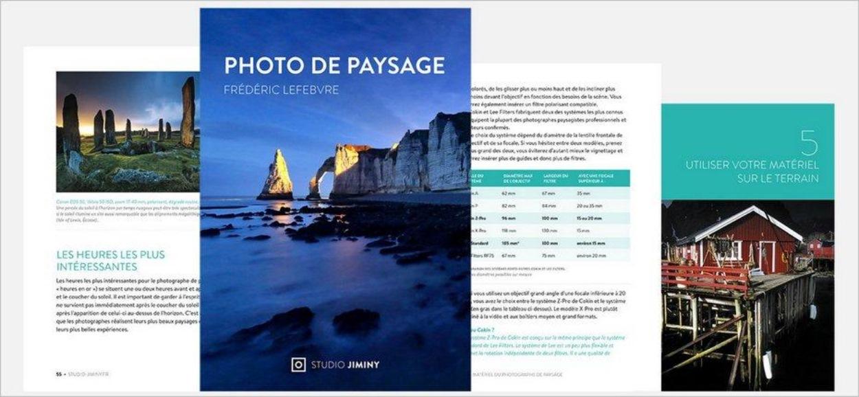 Aperçu de l'ebook sur la photo de paysage