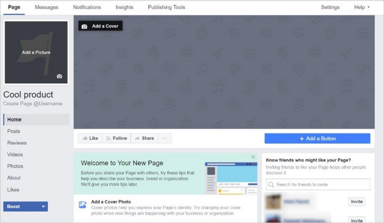 Personnaliser sa page Facebook, une étape importante