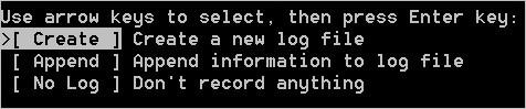 Créer le fichier de logs avec TestDisk