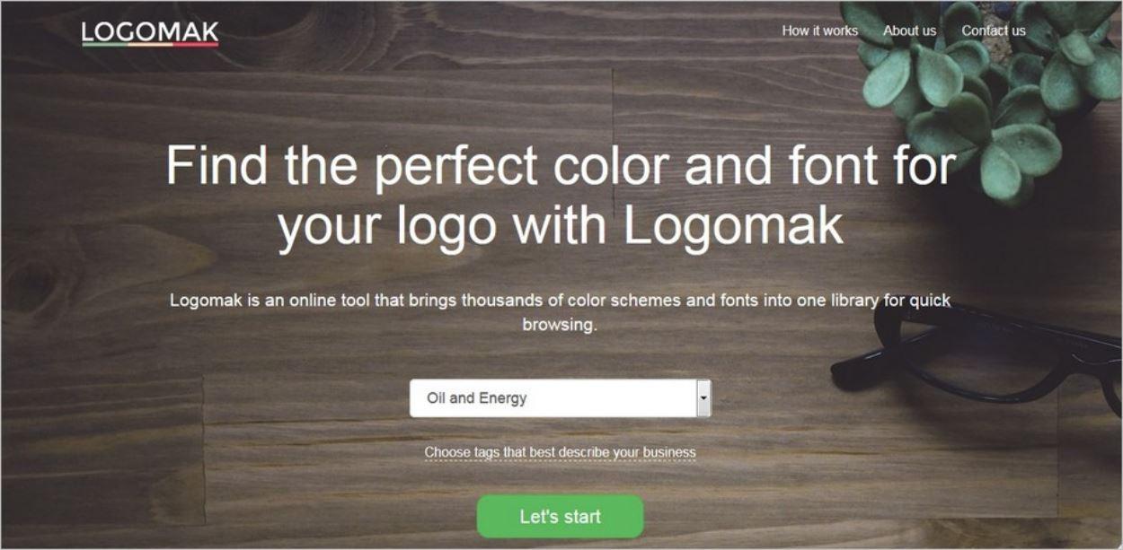 Logomak, un outil pour créer un logo en ligne