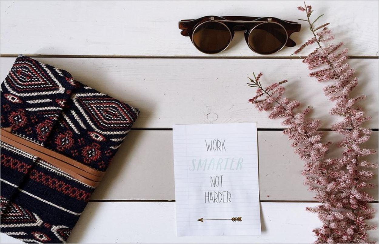 Travaillez plus intelligemment, pas plus dur !