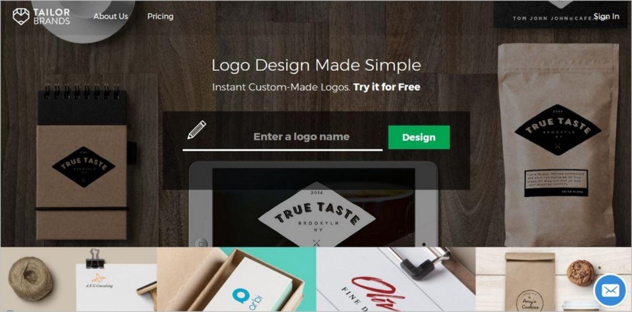 Tailor Brands, un outil en ligne pour des logos percutants