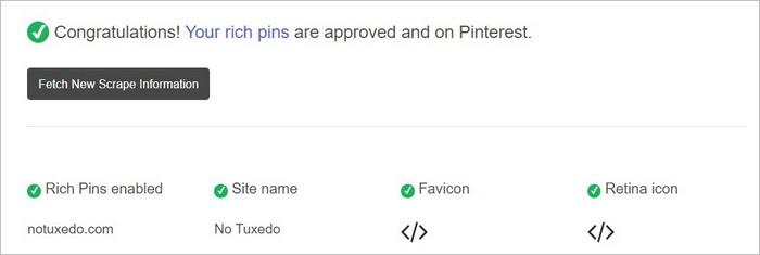 Rich Pins sur Pinterest