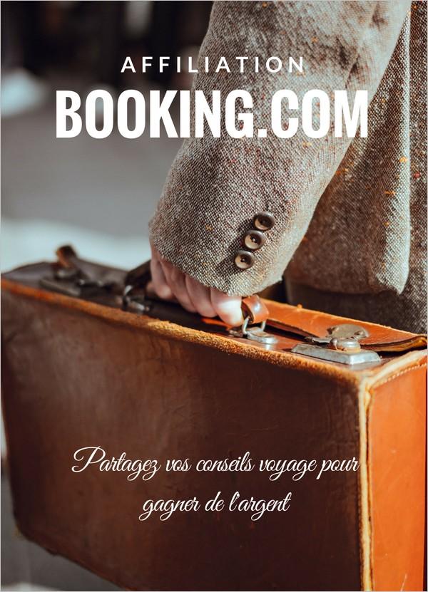 L'affiliation Booking, un moyen de gagner de l'argent avec son blog voyage