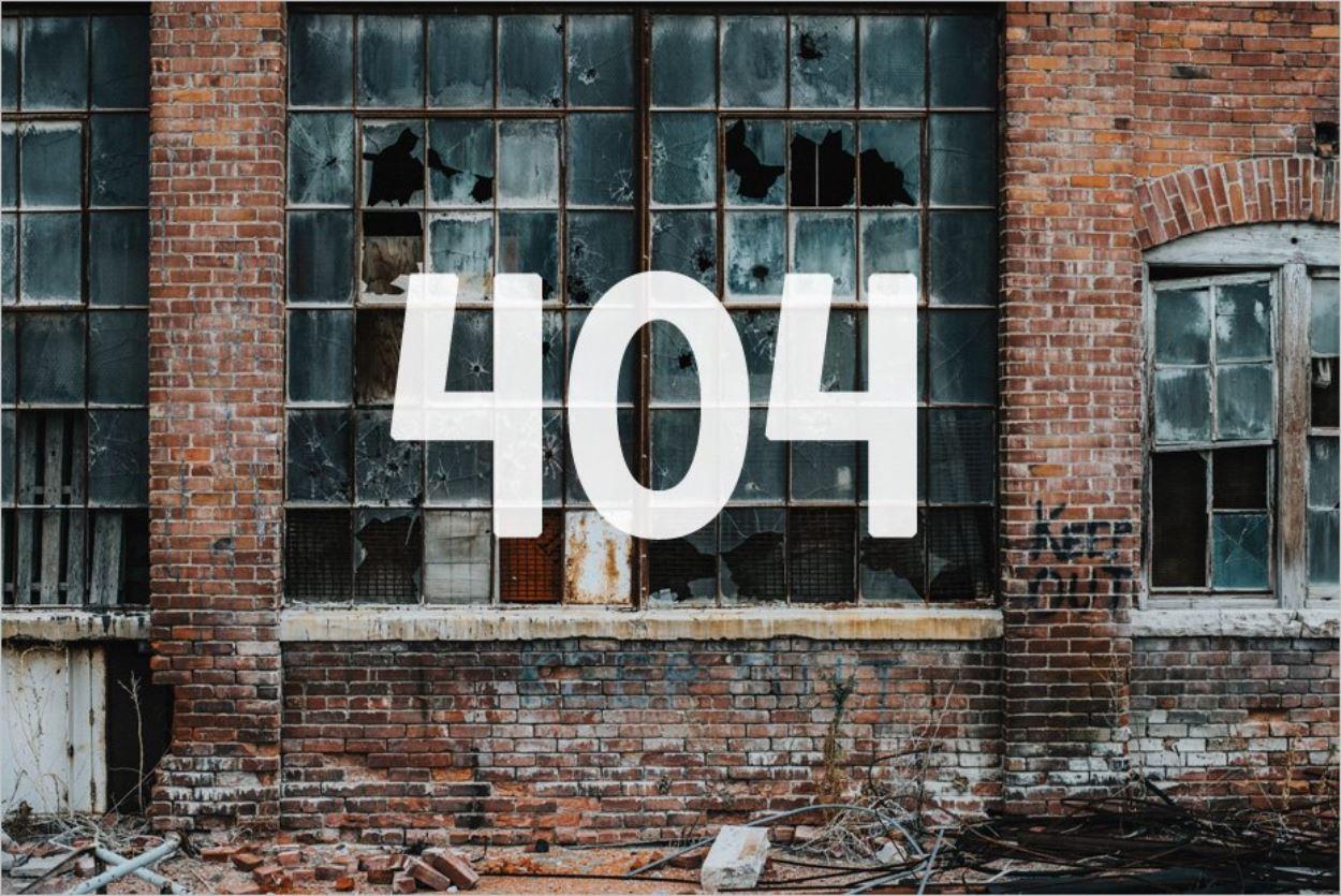 L'erreur 404, une situation inévitable sur un site