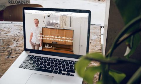 Que mettre sur la page d'accueil de son blog ?