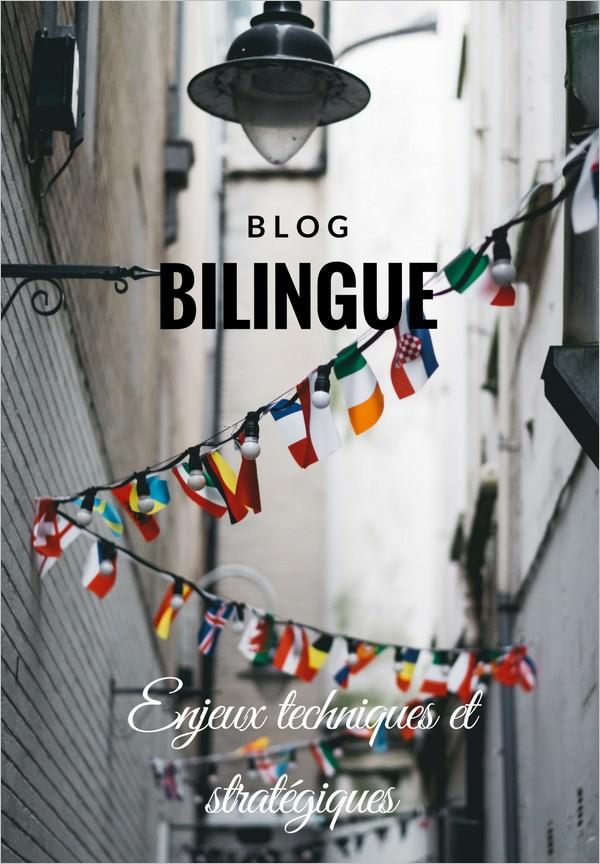 Les enjeux d'un blog bilingue