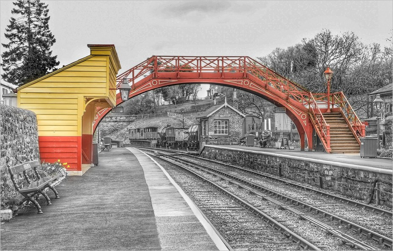 Gare de Goathland, Angleterre