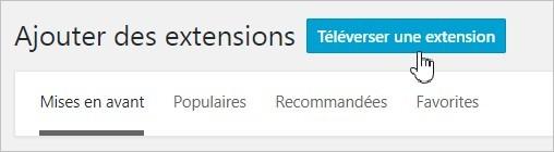 Installer une extension WordPress