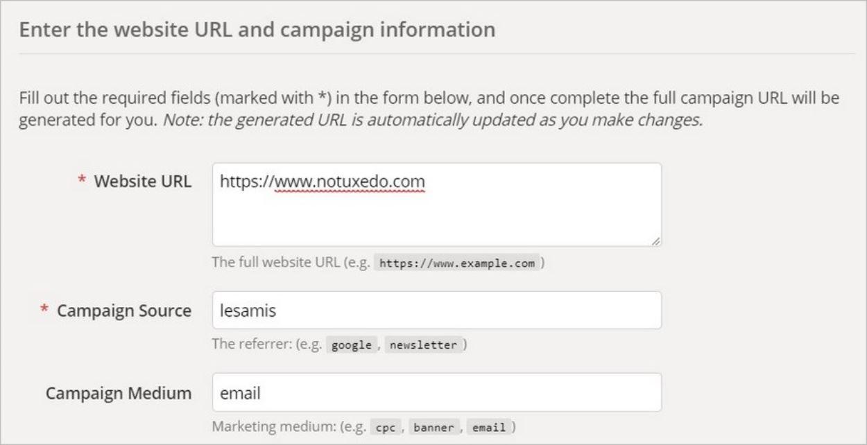 Suivre un lien sur Google Analytics
