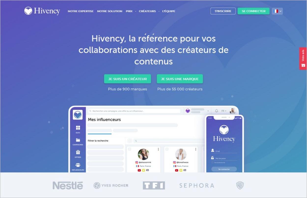 L'agence Hivency, trait d'union entre marques et créateurs de contenu