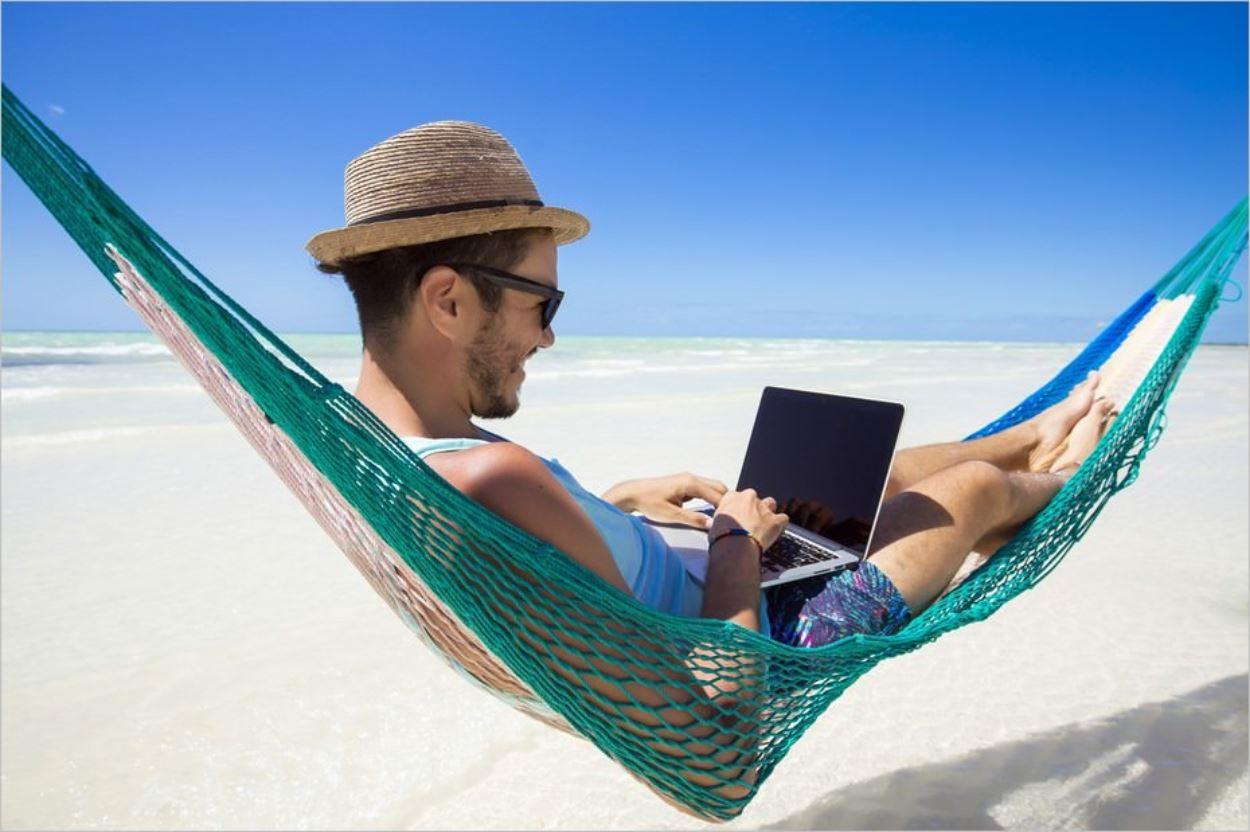 Le cliché du nomade digital