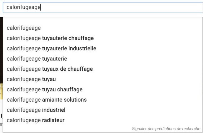 YouTube Suggest sur un sujet complexe