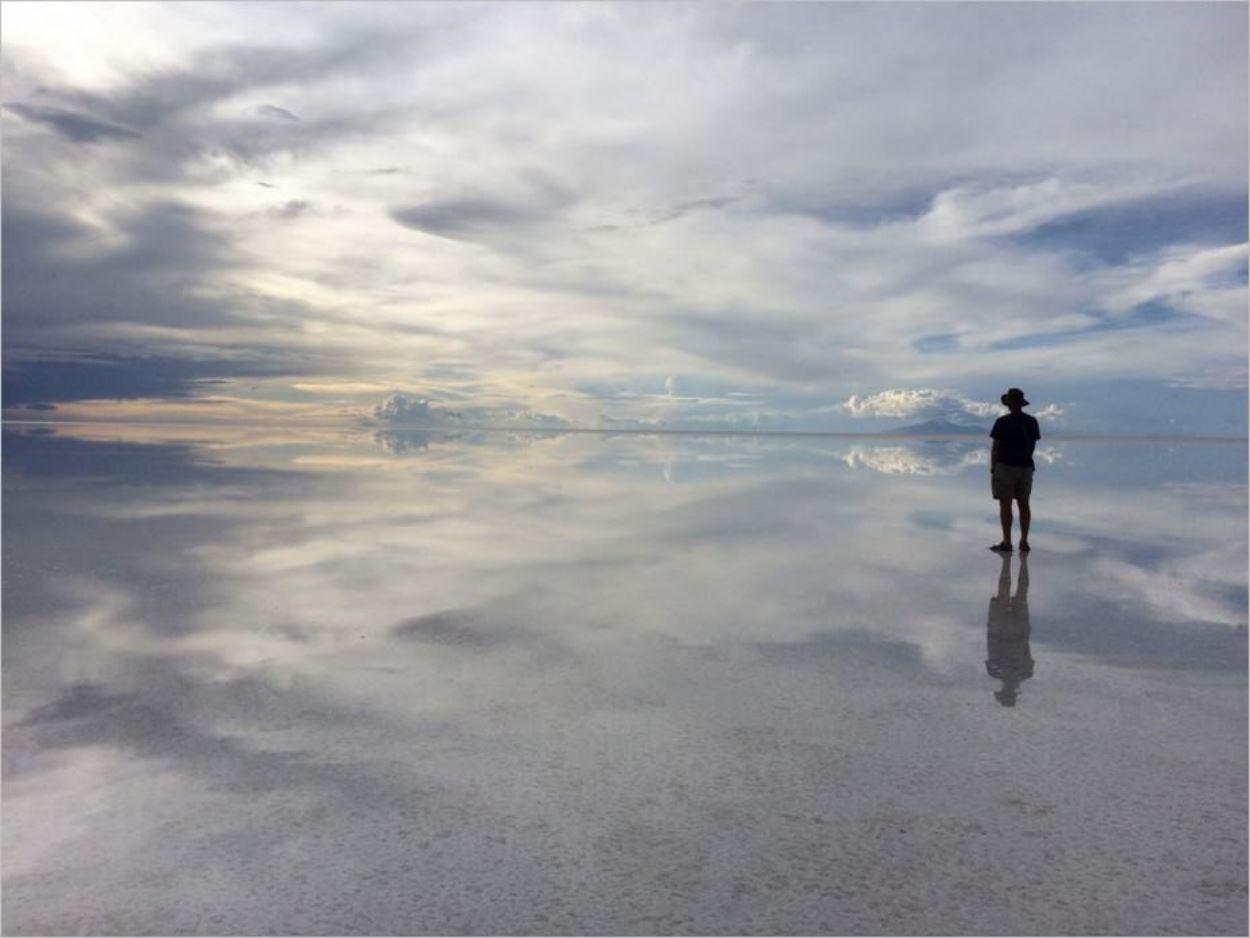 Jean-Benoît Moingt - Photo tirée de son blog Tour du Monde 5 Continents