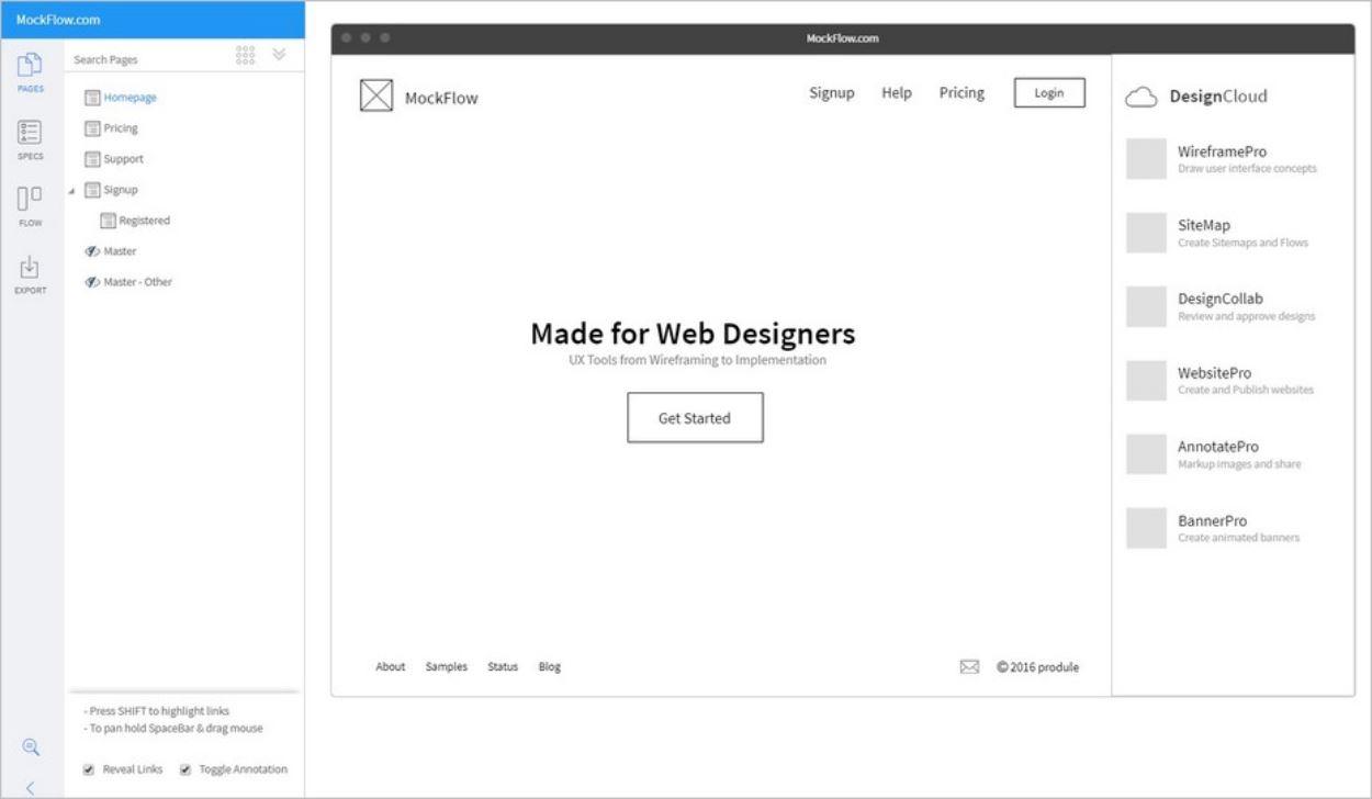 Le travail sur les wireframes, une réflexion sur la conception du site