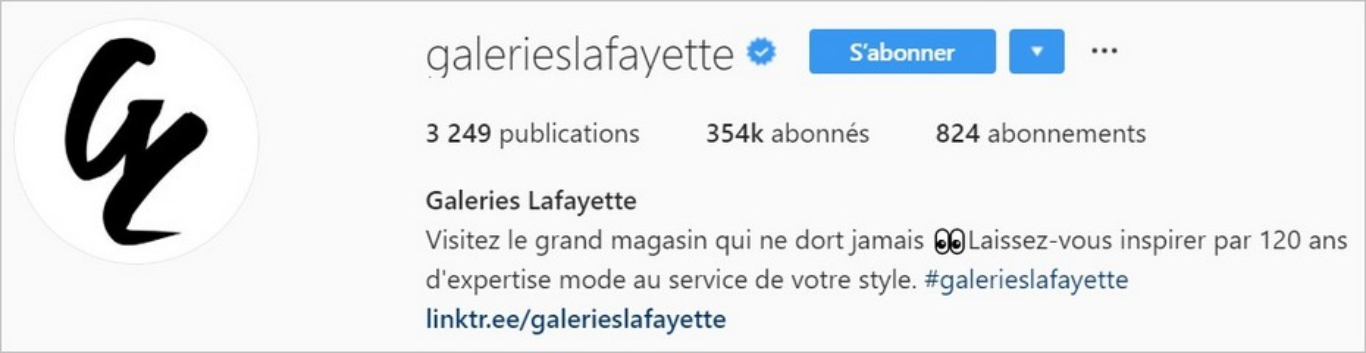 Les Galeries Lafayette sur Instagram
