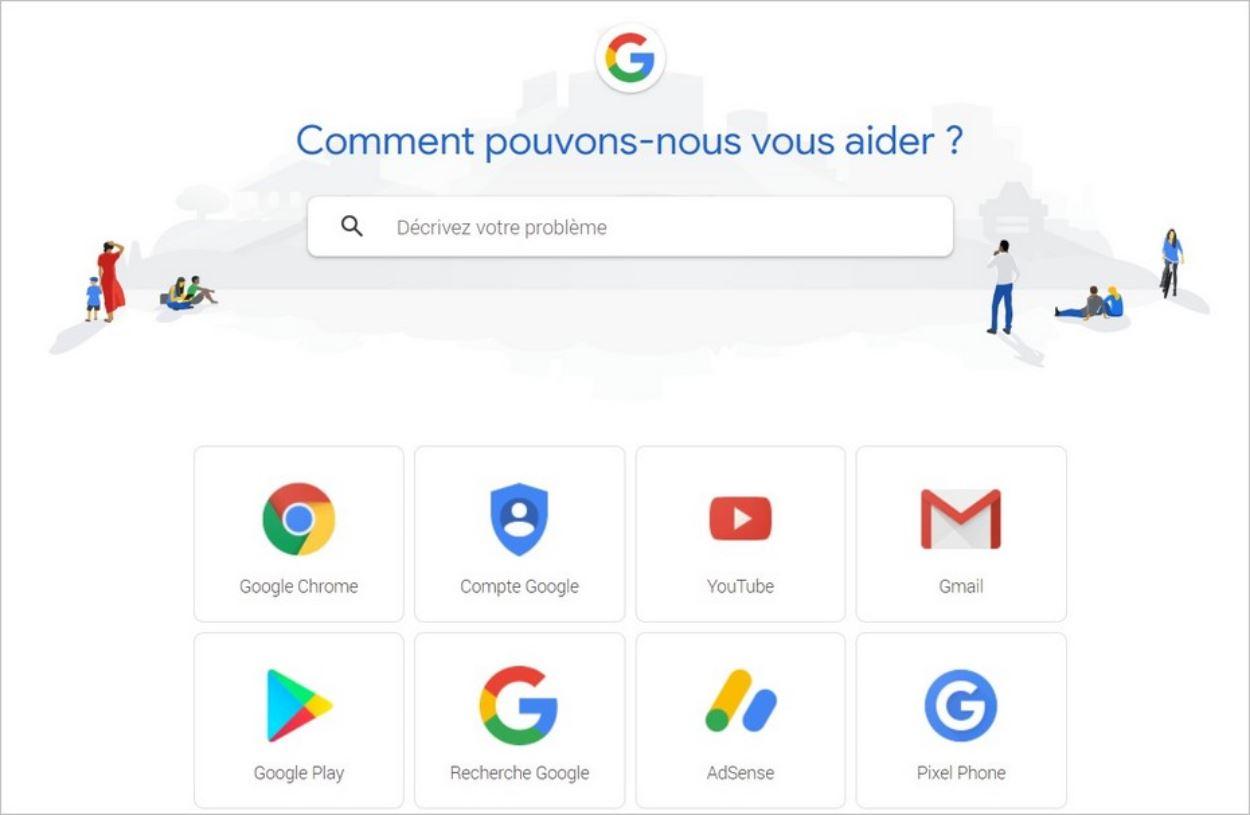 Créer une FAQ : l'exemple de l'aide de Google