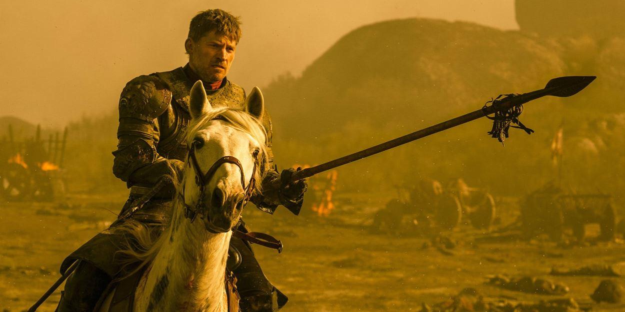 Jaime Lannister en pleine bataille