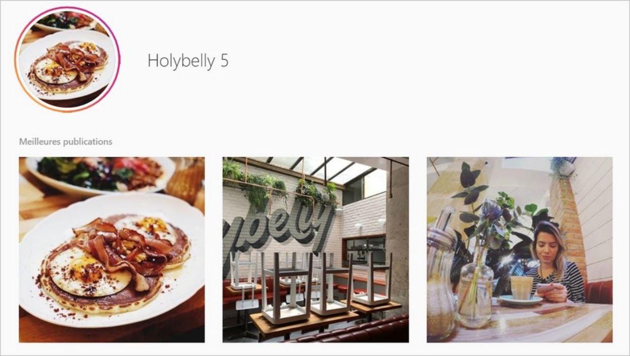 Retrouver les photos associées à un lieu sur Instagram