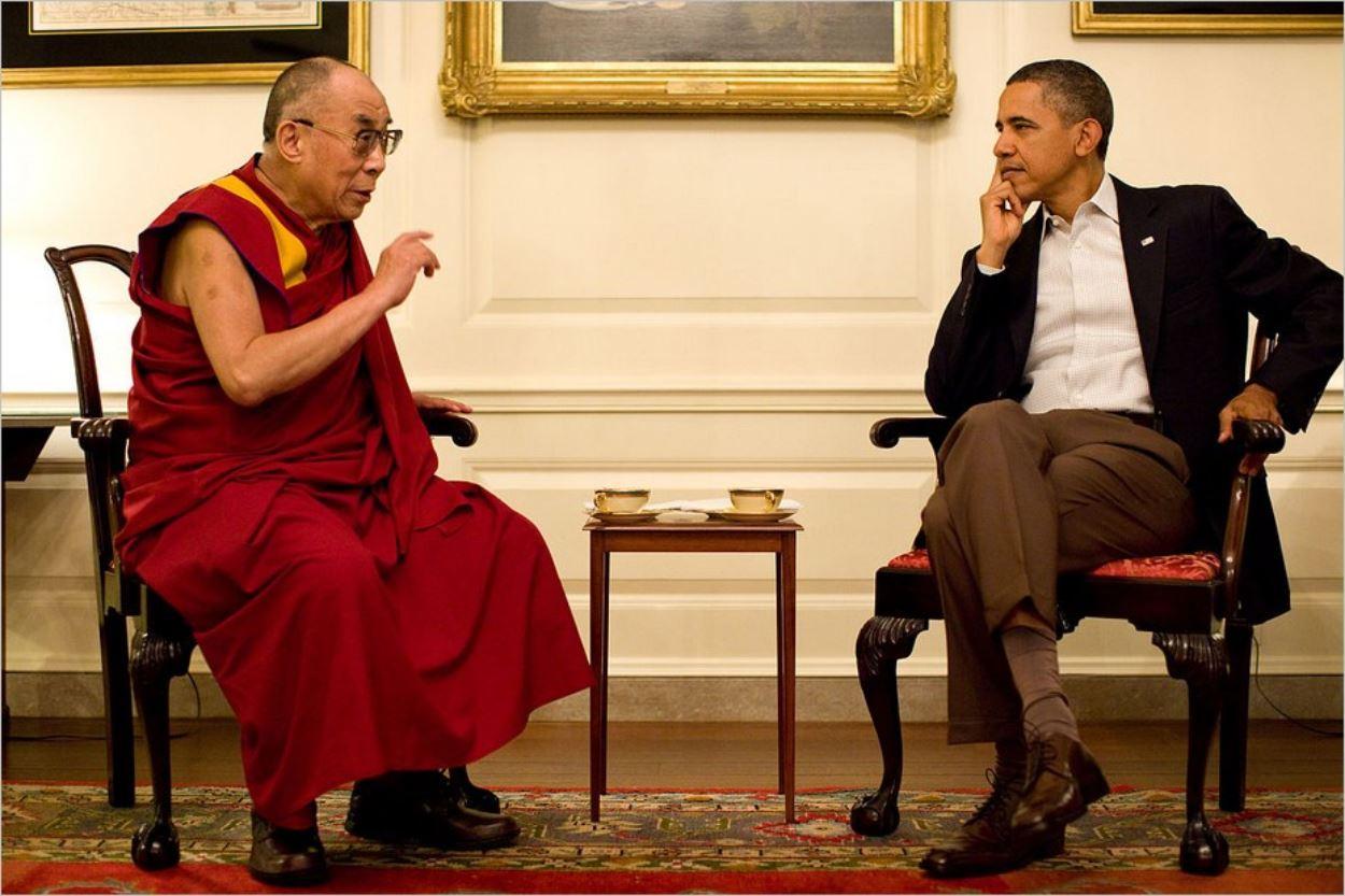 Barack Obama et le Dalaï-Lama