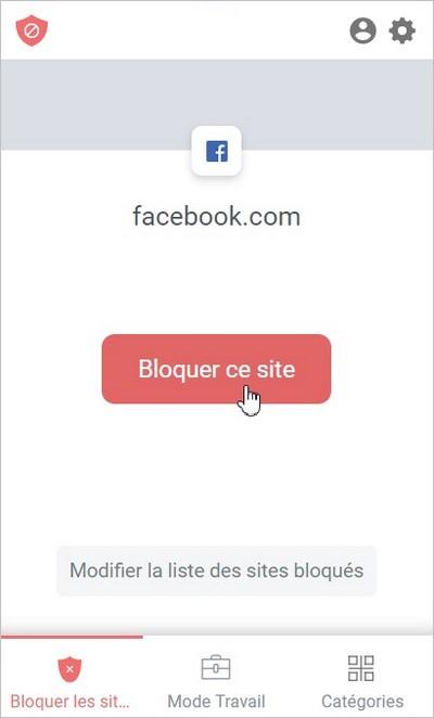 Bloquer un site avec Block Site
