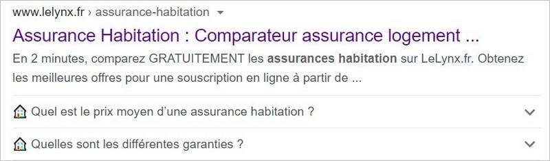 FAQ sur Google