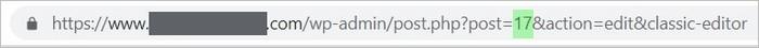 Trouver l'identifiant d'un post WordPress