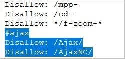 Blocage de l'Ajax sur Cdiscount