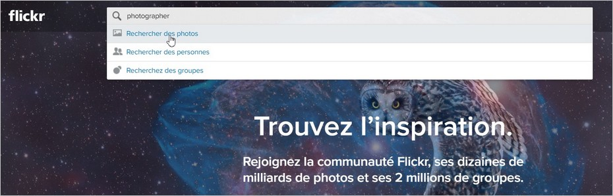 Rechercher une photo gratuite et libre de droits sur Flickr